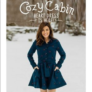 Kiel James Patrick Cozy Cabin Heart dress!